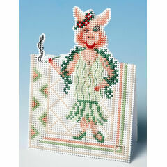 Hello Boys Card 3D Cross Stitch Kit