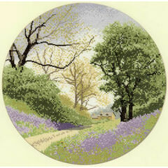 Bluebell Lane Cross Stitch Chart