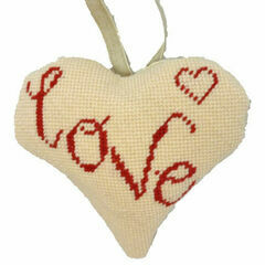 Love Lavender Heart Tapestry Kit
