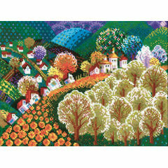 Fairytale Valley Cross Stitch Kit
