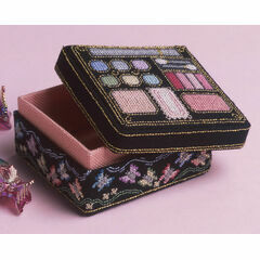 Make-Up Box 3D Cross Stitch Kit
