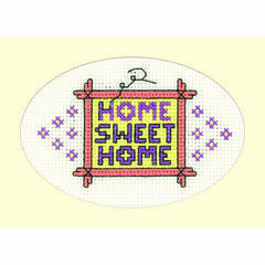 Home Sweet Home Cross Stitch Card Kit