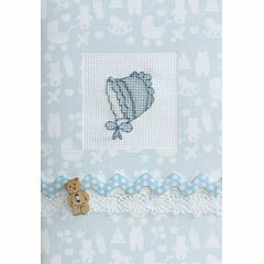 Blue Bonnet Cross Stitch Card Kit