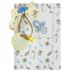 Boy Dummy Cross Stitch Card Kit