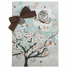 Butterfly Tree Cross Stitch Card Kit