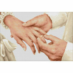 Forever Wedding Ring Cross Stitch Kit