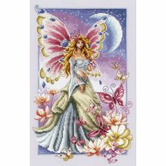 Butterfly Fairy Cross Stitch Kit