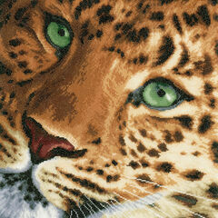 Leopard Cross Stitch Kit