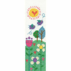 Beautiful Day Bookmark Cross Stitch Kit