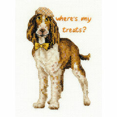 Springer Spaniel Cross Stitch Kit