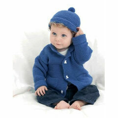 Easy To Knit Jacket & Beanie Knitting Kit