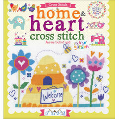 Home & Heart Cross Stitch Chart Book