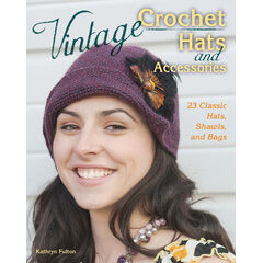 Vintage Crochet Hats & Accessories Book