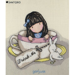 Gorjuss Sweet Tea Cross Stitch Kit