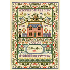 Country Cottage Cross Stitch Kit