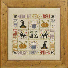 Trick Or Treat Cross Stitch Kit