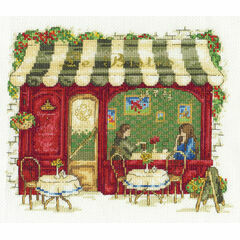Le Bistro Cross Stitch Kit
