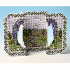 Country Garden Deluxe 3D Cross Stitch Card Kit