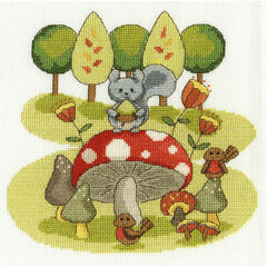 Munchtime Cross Stitch Kit