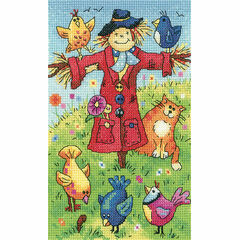 Scarecrow Cross Stitch Kit