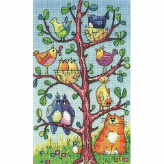 Bird Watching Cross Stitch Kit