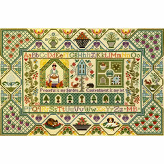 Peaceful Garden Cross Stitch Kit