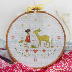 Nature Girl Cross Stitch Kit