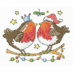Christmas Kiss Cross Stitch Kit