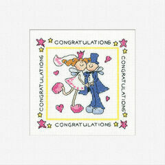Fairy Wedding Cross Stitch Card Kit