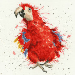Parrot On Parade Cross Stitch Kit