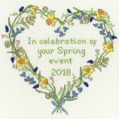 Spring Celebration Cross Stitch Kit