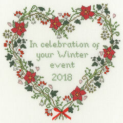 Winter Celebration Cross Stitch Kit
