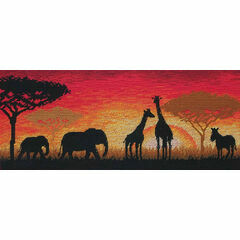 African Horizon Cross Stitch Kit