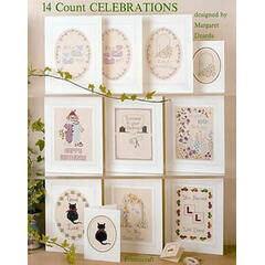 14 Count Cross Stitch Celebrations Chart Book