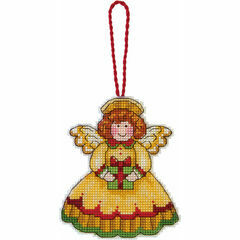 Angel Ornament Cross Stitch Kit