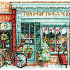 Toy Shoppe Cross Stitch Kit