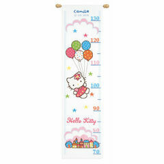 Hello Kitty Height Chart Cross Stitch Kit