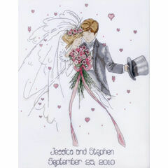 Wedding Couple Cross Stitch Kit