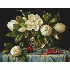 Magnolia Cross Stitch Kit