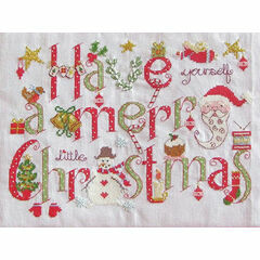 Have Yourself A Merry Little Christmas Cross Stitch Kit