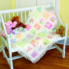 ABC Afghan Cross Stitch Kit