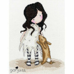 Gorjuss I Love You Little Rabbit Cross Stitch Kit