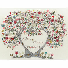 Love Blossoms Cross Stitch Kit