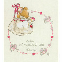 Country Companions New Baby Cross Stitch Kit