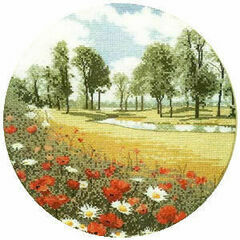 Summer Meadow Cross Stitch Kit