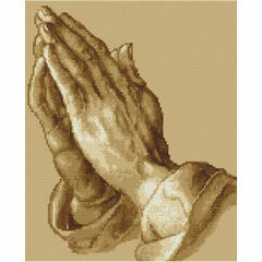 Praying Hands Cross Stitch Kit