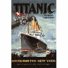 Titanic Cross Stitch Kit