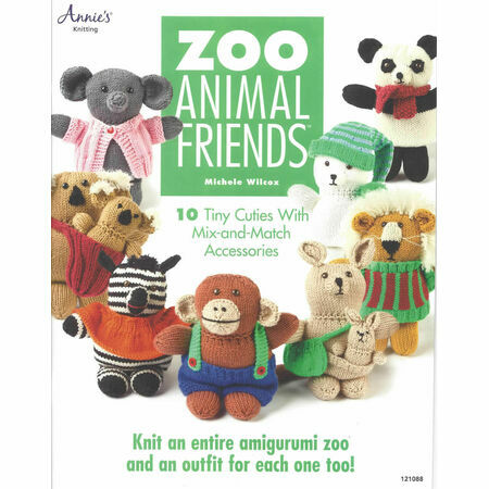 Knitting Patterns Zoo Animals : Zoo Animal Friends Knitting Pattern Book only ?12.50