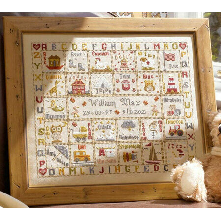 A Is For Ark Cross Stitch Kit Only 163 36 90