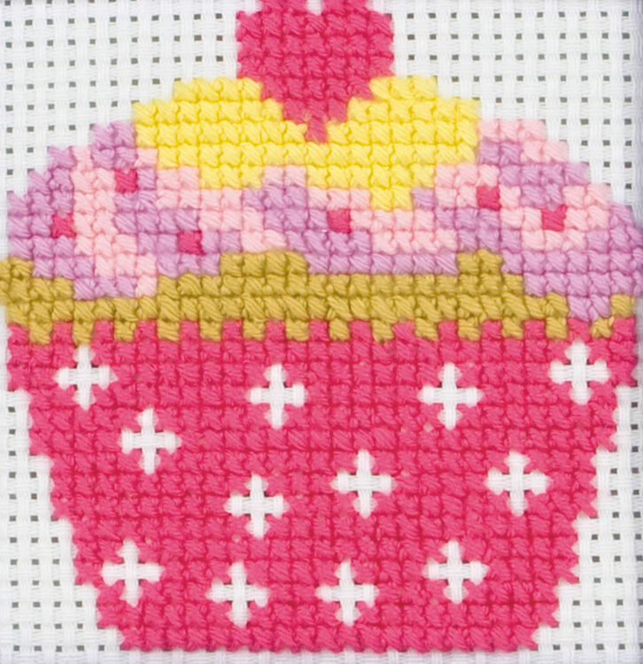 Cupcake Cross Stitch Kit Only 163 8 30